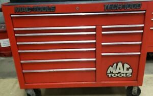 Mac Tools Tech 1000 Tool Box Used Compact Size Box In Very Good Condition