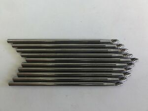 Carbide Burr 1 8 X 3 10 Pc Set Made In Usa