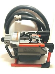 Ridgid K 60sp Sectional Drain Cleaning Machine With Rear Guide Hose