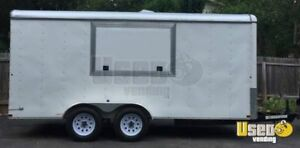 2014 7 X 16 Food Concession Trailer For Sale In Texas