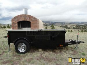 2015 6 5 X 12 4 Wood Fired Brick Pizza Oven Trailer For Sale In Colorado