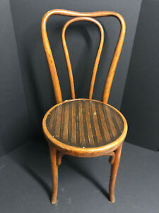 11 Assorted Thonet Style Antique Bentwood Bistro Chairs