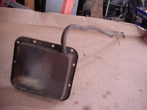 Early Ford Bronco C4 Automatic Transmission Pan And Dipstick Assy 73 77