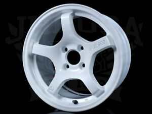 Rays Gram Lights 57cr Wheels Ceramic Pearl white 15x8 4x100 28 Civic Integra