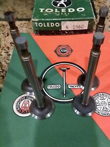 4 Intake 4 Exhaust Valves Allis Chalmers Tractor W Wf Wc Power Unit W25