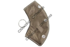 Cx Titanium Heat Wrap Heatshield 2 5 90 Deg For Header Turbo