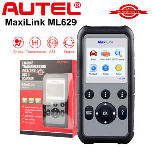 Us Autel Ml629 Obd2 Auto Diagnostic Tool Code Scanner Abs Srs Toyota Gm Bmw Benz