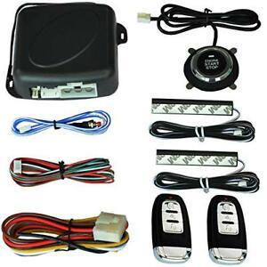 Keyless Entry System Pke Engine Starter Push Button Vehicles Start Stop Kit