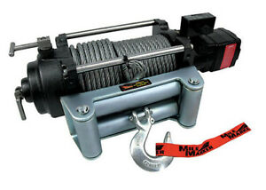 Mile Marker 75 52000c H12000 2 Speed 12k 12 000lbs Hydraulic Winch W 100 Cable