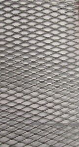 1 2 16 304 Stainless Steel Flattened Expanded Metal 13 3 4 X 34 3 4
