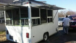 8 X 11 Food Concession Trailer For Sale In Oklahoma