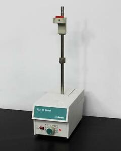 Metrohm 703 Ti Pump Stand Rod For Titration Titrator Systems