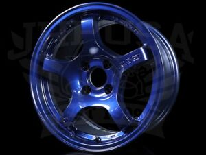 Rays Gram Lights 57cr Wheels Eternal Blue Pearl 15x8 4x100 35 Civic Integra