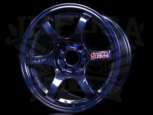 Rays Gram Lights 57dr Wheels Mag Blue 15x8 4x100 35 Civic Integra Miata