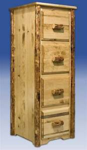 Glacier Country File Cabinet W 4 Drawers id 42768
