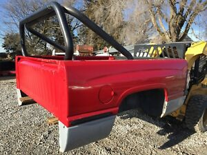 Dodge Ram Short Box Tailgate With Roll Bar 94 02 Second Gen Bed