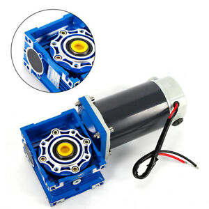 Dc12v 5a Variable Speed 5d90gn rv40 Electric Worm Gear Reducer Motor Cw Ccw Best