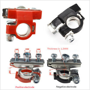 2pcs Car Boat Heavy Duty Quick Release Battery Terminal Clip Connector Clamp