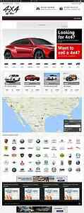 Established Turnkey Website Business Cars Sale com Bonus Used4x4forsale com