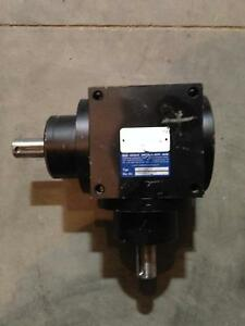 Max Muller Kv120ao 3 shaft Right Angle Gear Drive speed Reducer 1 1