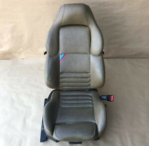 1995 1999 Bmw E36 M3 Right Passenger Brown Leather Vader Sport Power Seat Oem