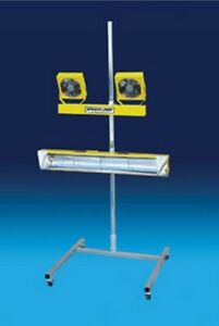 Speed Dry Waterborne Drying System With Heater Inf 15 1015 Brand New