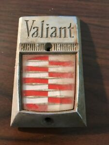 Vintage Plymouth Valiant Checker Board Emblem Lot 14