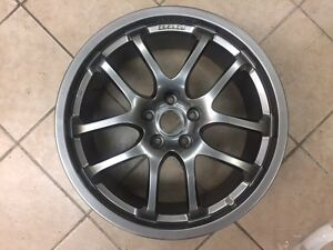 1 Refinished Rays Forged 19 X 8 5 Infiniti G35 Rear Wheel Hollander 73684