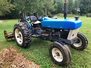 New Holland 3930 Ford Tractor 720 Hours Turbocharged 52 Hp