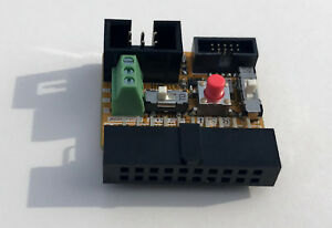 Swd Adapter Segger J link To Tag connect 10pin Swd Uart Power Switch