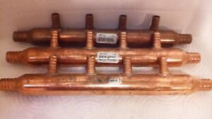 3 Copper Pex 4 Port Manifolds Free Shipping Plumbing