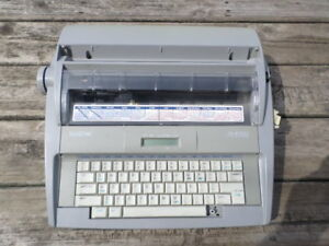 Brother Sx 4000 Correcting Electronic Typewriter Daisy Wheel For Parts Or Repair