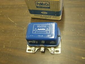Nos Oem Ford 1958 1963 Truck Voltage Regulator 1959 1960 1961 1962 61 T Bird