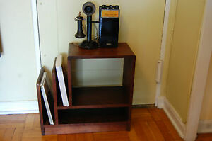 Vintage Antique 1930 S Art Deco End Side Night Table Book Stand