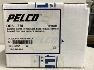 Pelco Dd5 fm Spectra Dome Removable Fixed Mount Camera Bracket Only New In Box