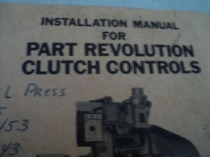 Rockford Safety Equipment Installation Manual Part Revolution Clutch Control 187