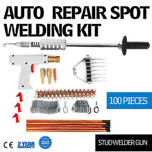 Repair Panels Spot Welding Kit Stud Welder Gun Aluminum Equipment