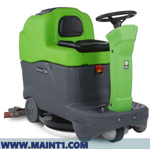 New Ipc Eagle Ct80 28 Ride On Floor Scrubber Onboard Charger Free Shipping