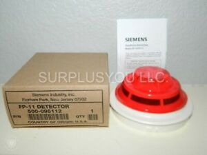 New Siemens Fp 11 Fireprint Detector Fire Alarm 50 Aval Free Fedex 2 day Ship