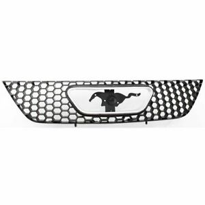 For 1999 2004 Ford Mustang Front Grille Base gt Model Wo Billet Edition Black