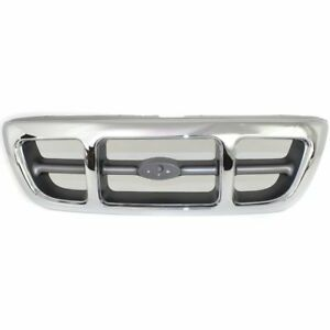 For 1998 1999 2000 Ford Ranger Front Grille 4wd Chrome