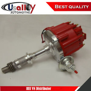 Suits 1975 Up Pontiac 301 326 389 400 455 V8 Hei Distributor With Red Cap
