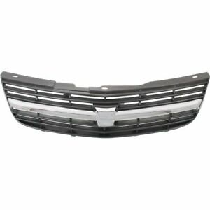 For 2000 2001 2002 2003 2004 2005 Chevrolet Impala Grille Base ls Chrome gray