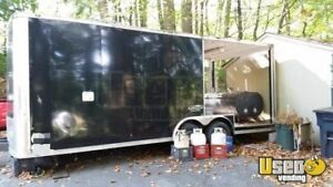 2012 8 X 20 Bbq Concession Trailer With Porch For Sale In Pennsylvania