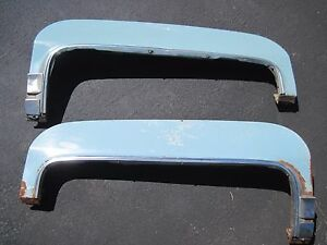1971 1976 Cadillac Fender Skirts Pair Nice Original Pair