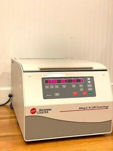 Beckman Coulter Allegra X 22r Bench Top Centrifuge With Rotor