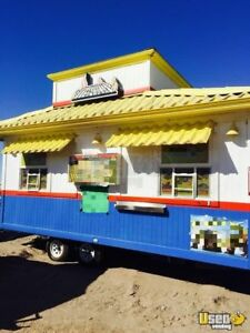 Food Concession Trailer For Sale In California