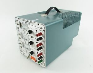 Power Designs Tp340a Triple Output Dc Power Supply Missing Tracking Switch