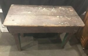 Fantastic Antique Wooden Barn Work Table