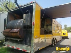 2014 36 Bbq Concession Trailer With Porch For Sale In Maryland